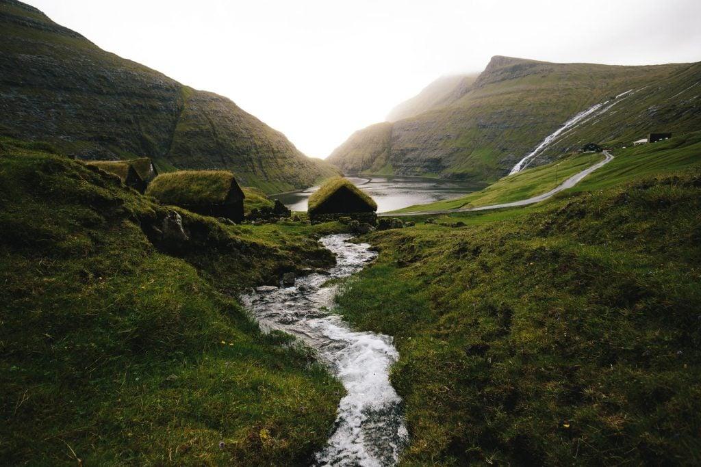 Where to elope in the Faroe Islands - Saksun