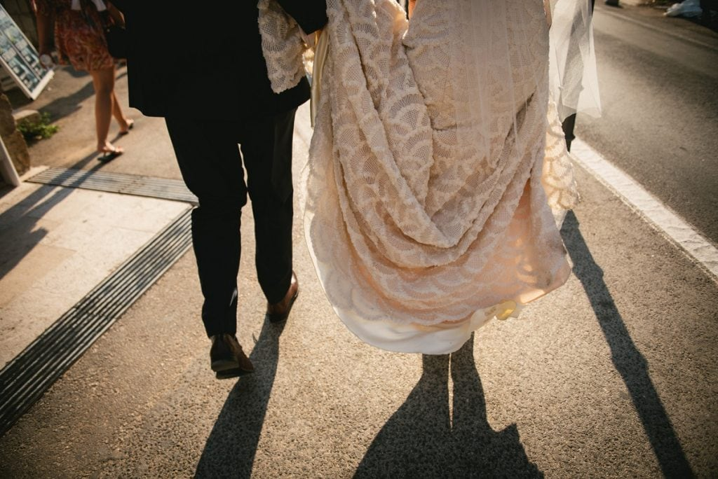 What to wear for an elopement in Cyprus - the dress