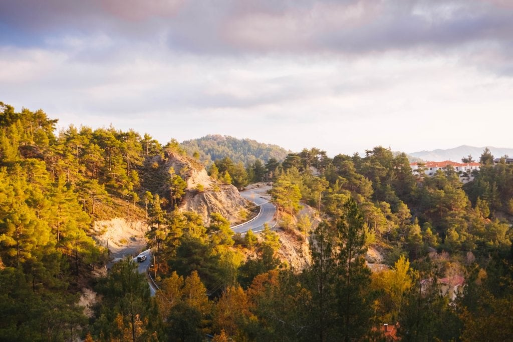 Where to elope in Cyprus - Cedar Valley