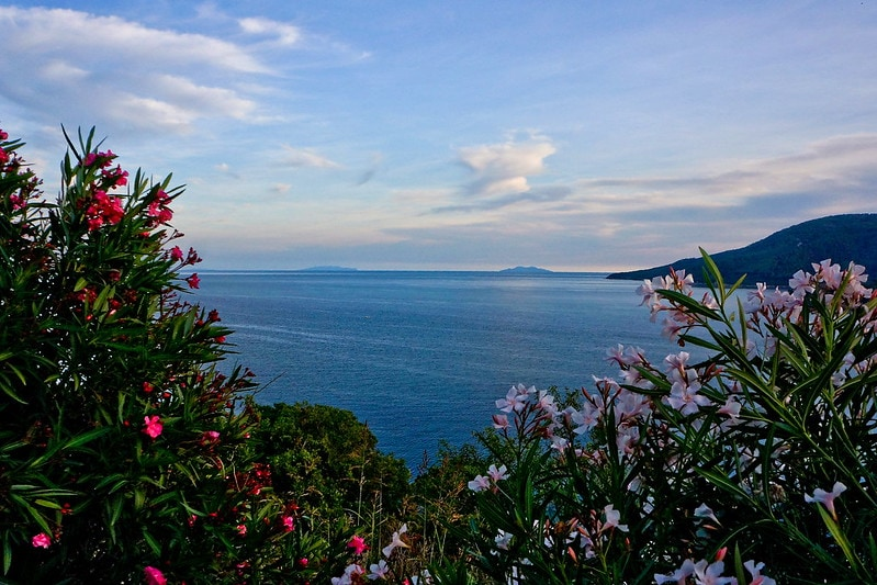 Where to elope in Tuscany - Giglio Island