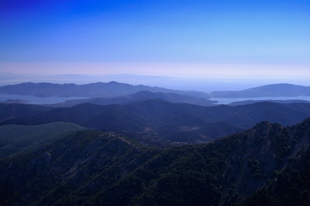 Where to elope in Tuscany - Monte Capanne