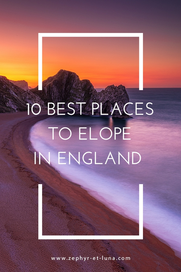 10 best places to elope in England