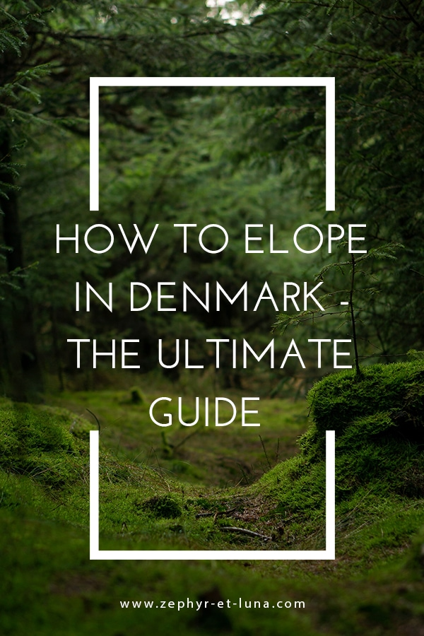 How to elope in Denmark - the ultimate guide
