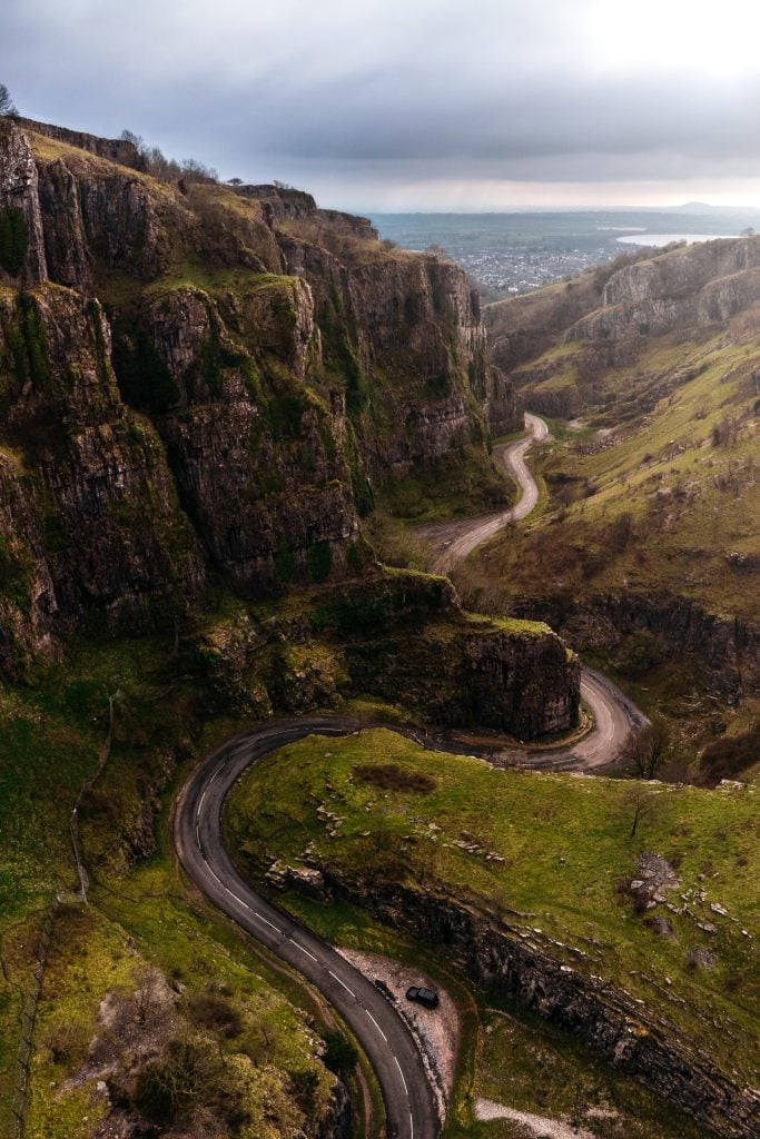 Where to elope in England - Cheddar Gorge