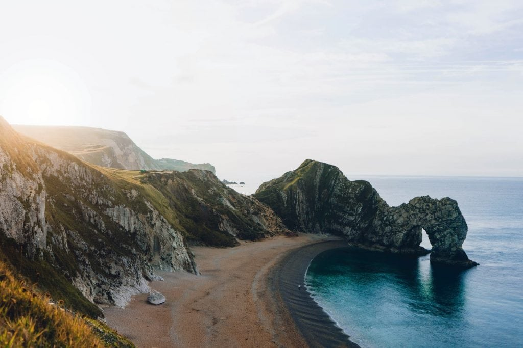 Where to elope in England - Durdle door