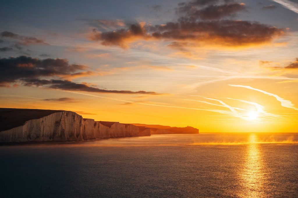 Where to elope in England - the Seven Sisters
