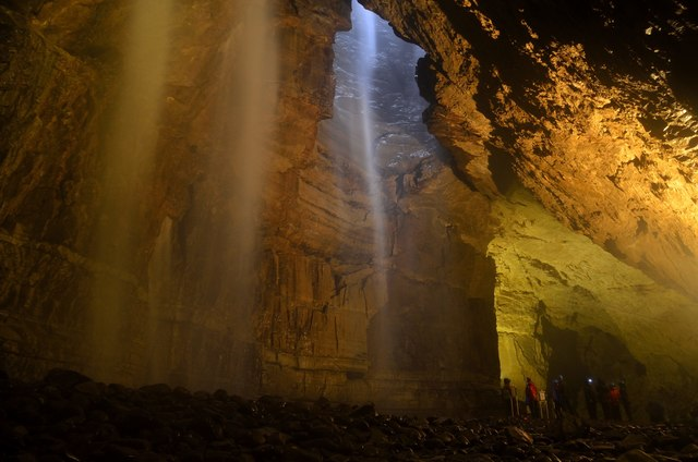 Where to elope in England - Gaping Gill