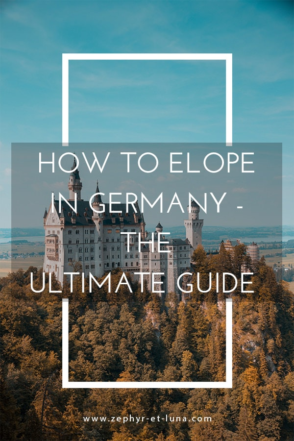 How to elope in Germany - the ultimate guide
