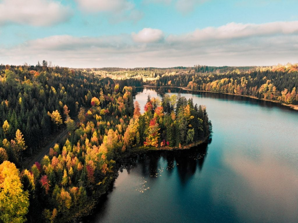 When to elope in Sweden - fall