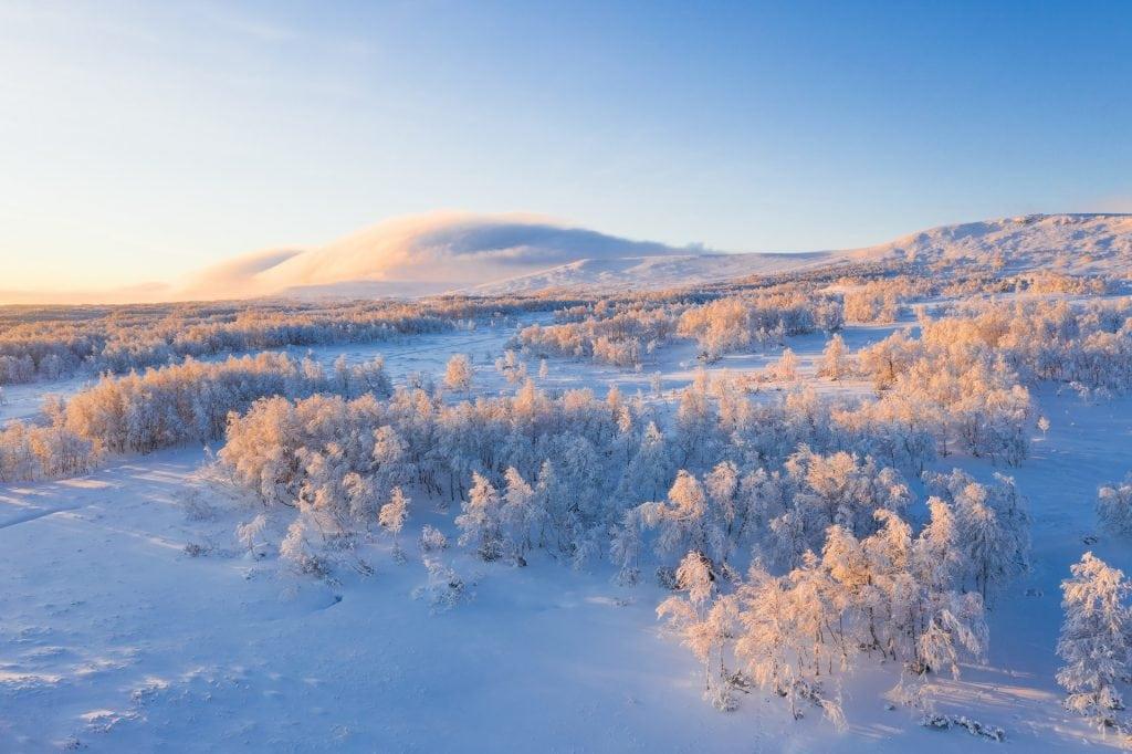 When to elope in Sweden - winter