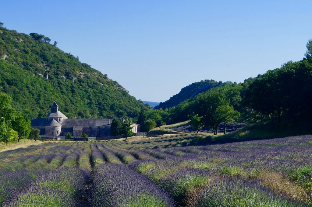 Styled shoot in Provence