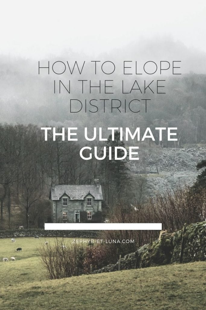How to elope in Lake District - the ultimate guide