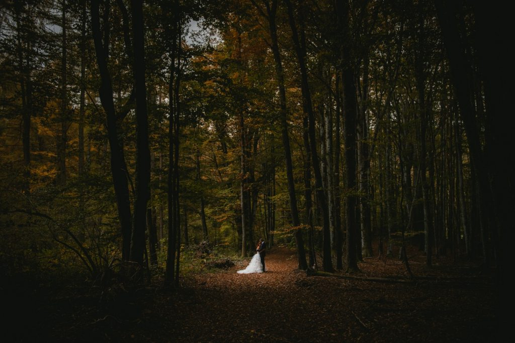 What to wear for an elopement in the Lake District - the dress