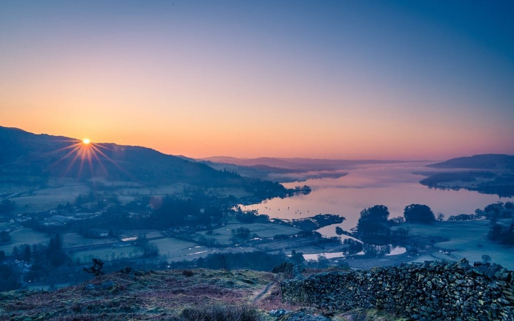 Where to elope in Lake District - Lake Windermere