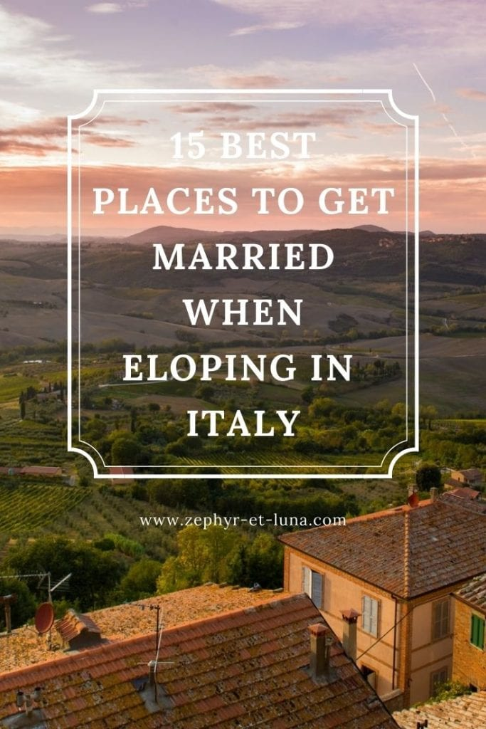 15 best places when eloping in Italy - Pinterest