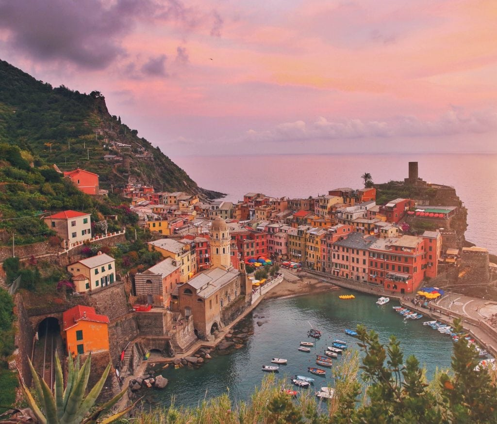 best places when eloping in Italy - Cinque Terre