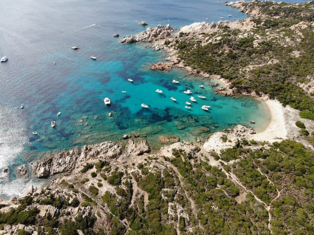 best places when eloping in Italy - Maddalena Archipelago