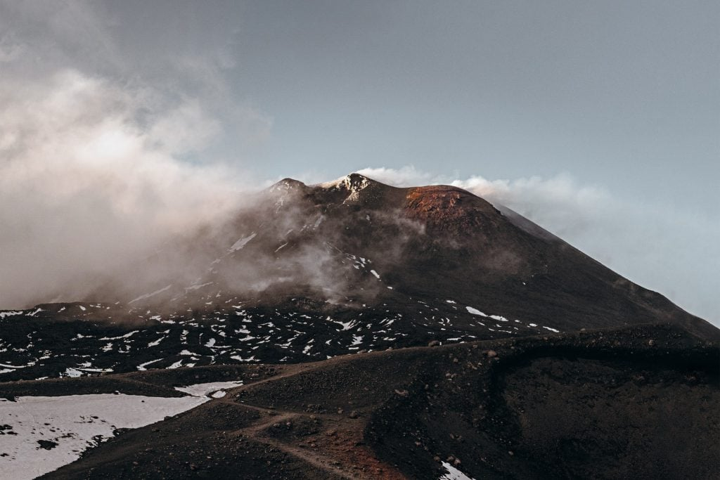 best places when eloping in Italy - Mount Etna