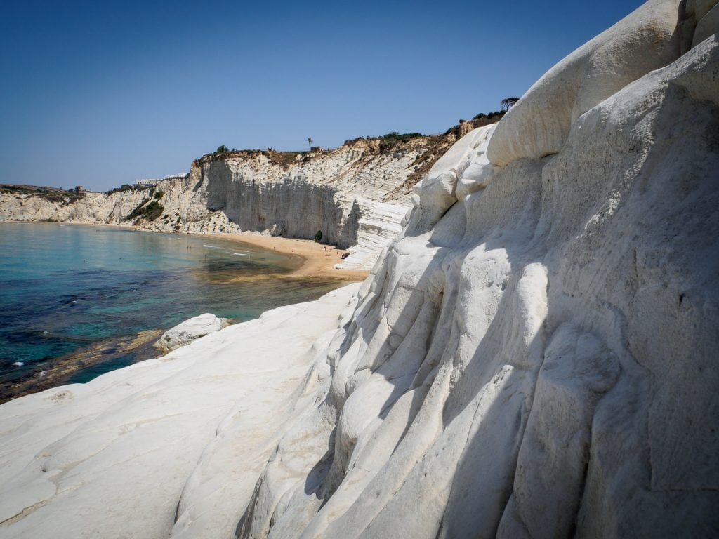 best places when eloping in Italy - Scala dei Turchi
