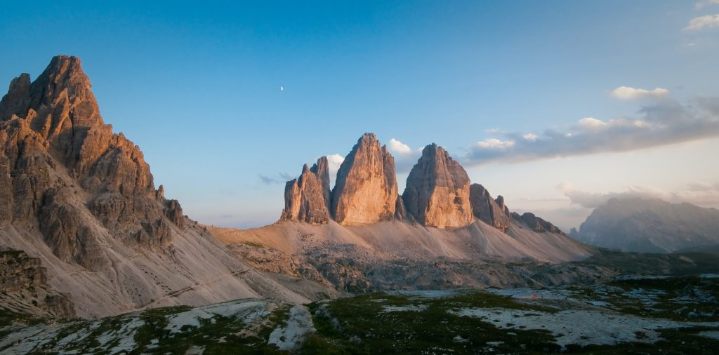 best places when eloping in Italy - The Dolomites