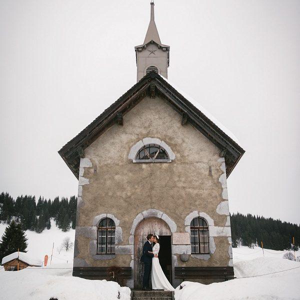 Adventure elopement photographer slideshow - alps elopement