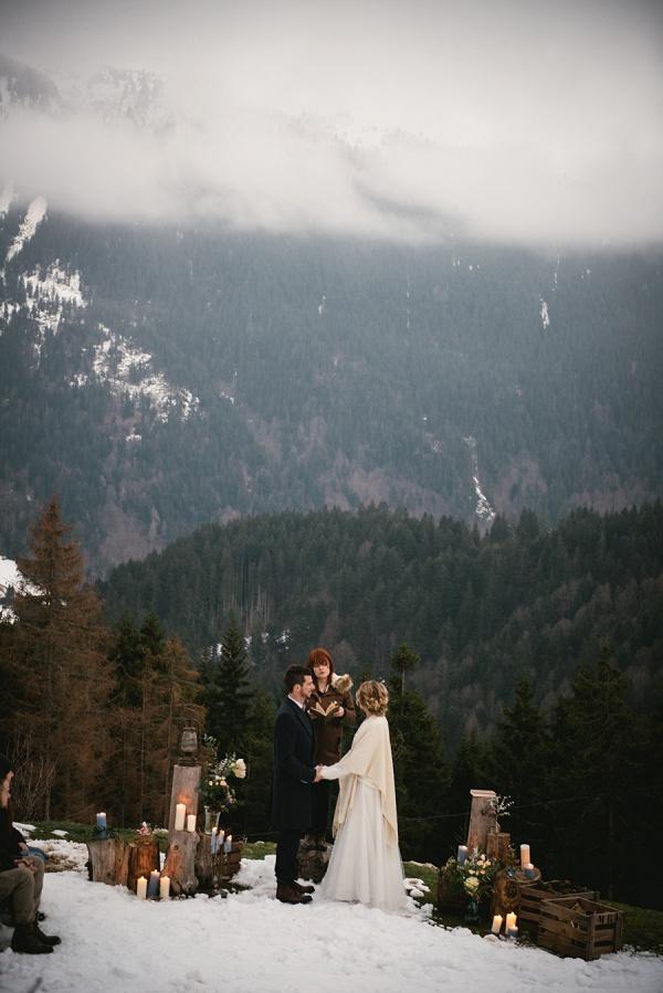 Adventure elopement photographer slideshow - mountain elopement