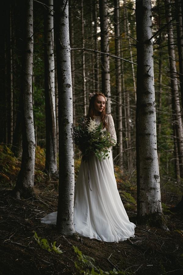 Adventure elopement photographer slideshow - fairytale elopement