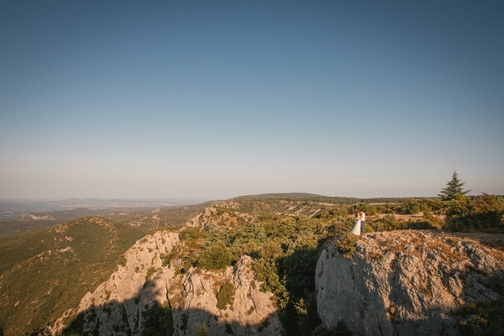 A post-wedding session in Provence - luberon overlook
