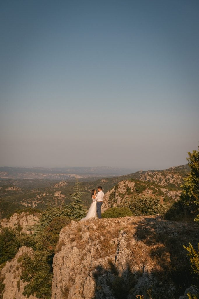 A post-wedding session in Provence - luberon