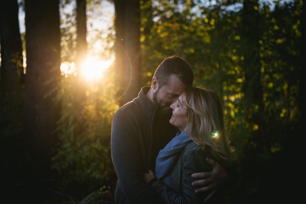Engagement photoshoot in France