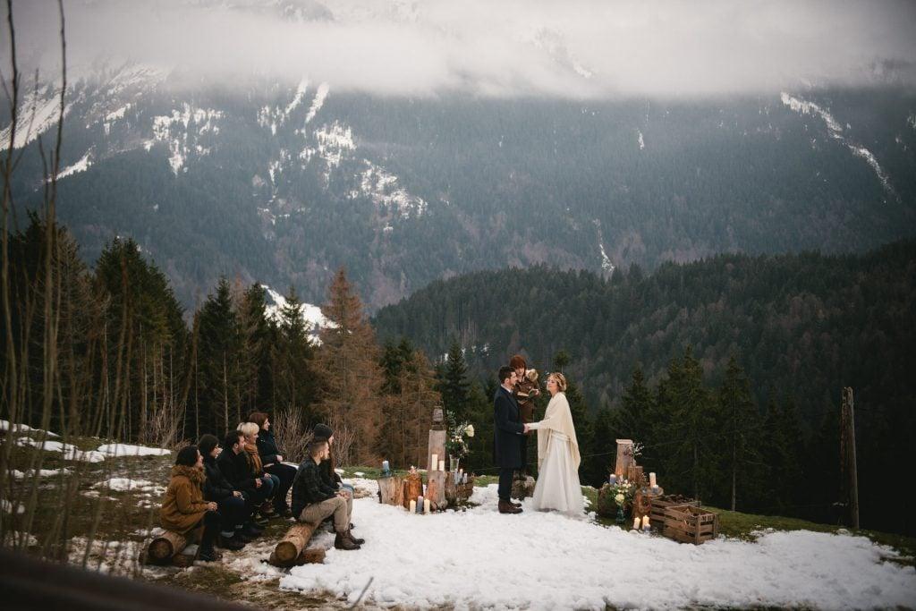 Medieval wedding decoration