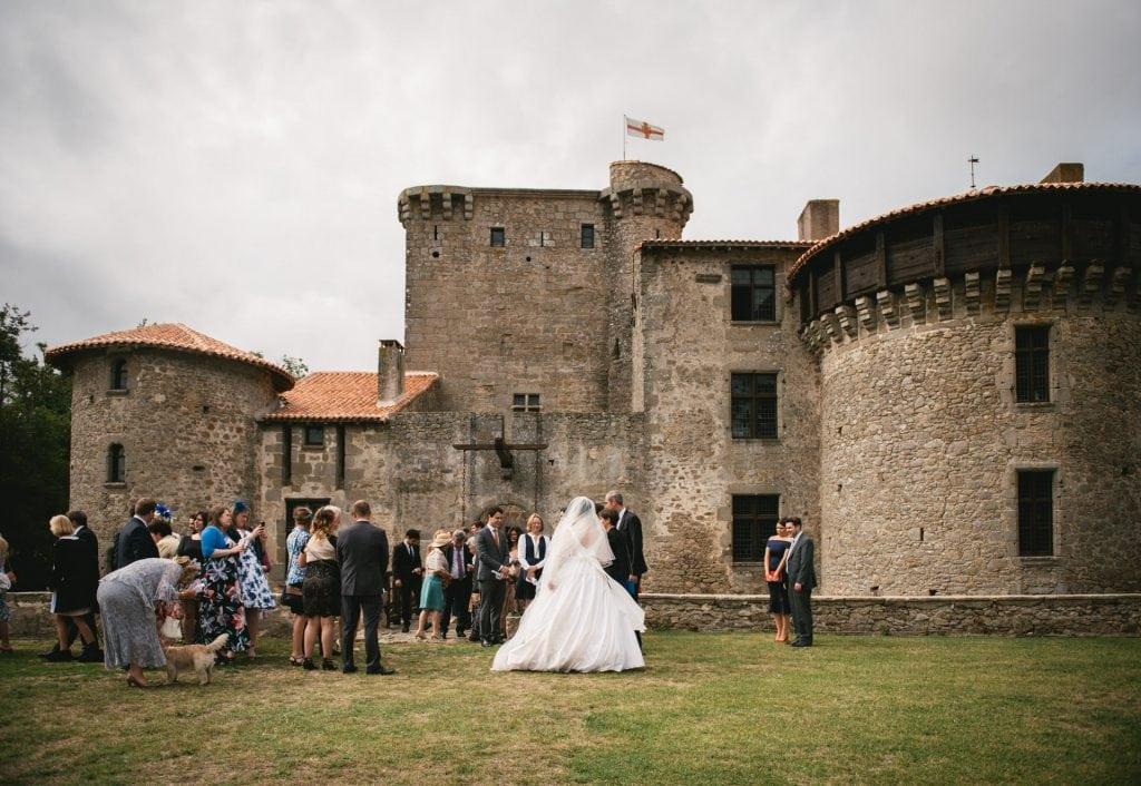 Medieval wedding venue - a castle