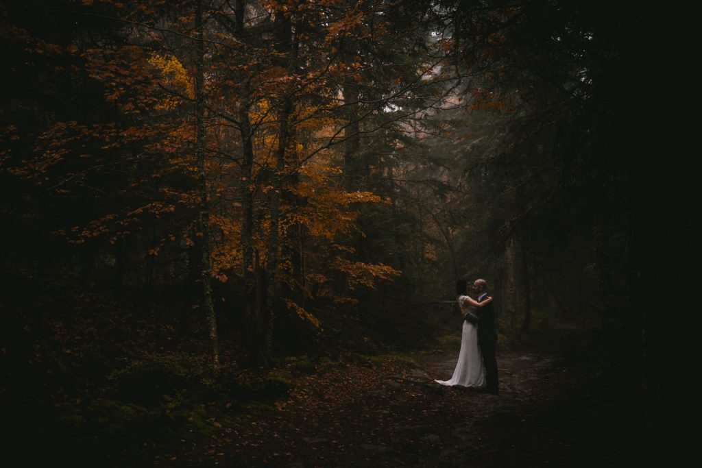 Medieval wedding venue - a forest