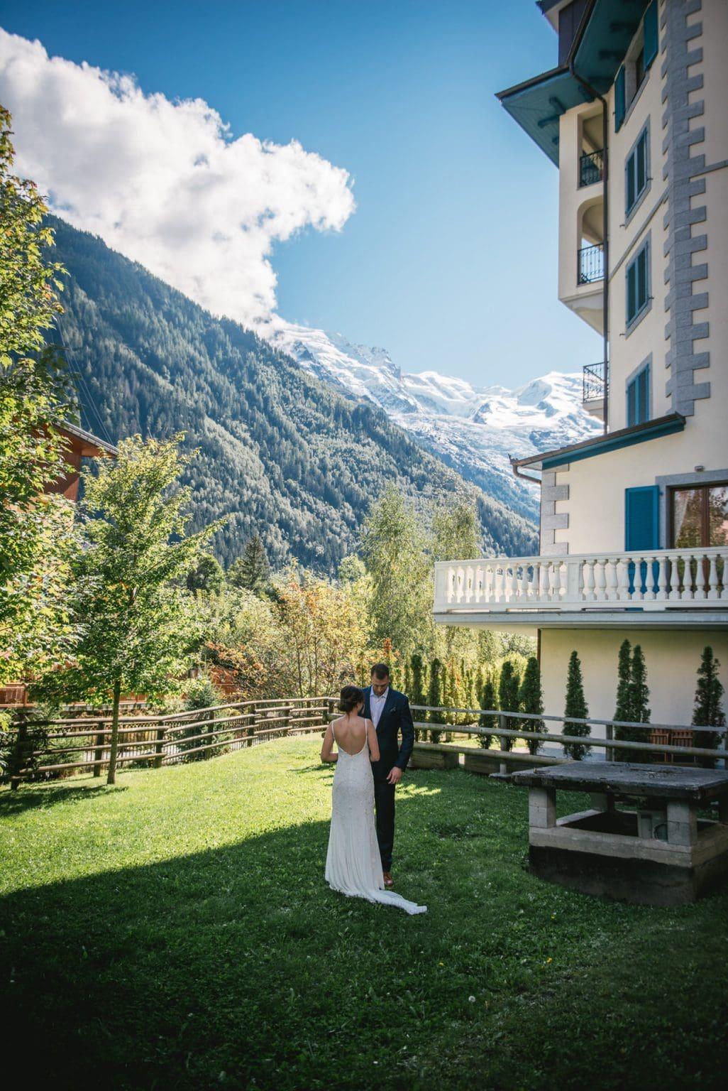 Elopement in Chamonix